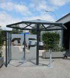 PARAFIX STAHL kültéri dohányzóernyő, szállítási költség nélkül