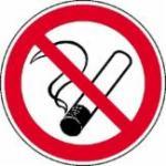 NO SMOKING dohányzást tiltó öntapadós címke, szállítási költség nélkül