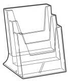 CLEARLINE 3XA4/A asztali szórólaptartó, 3XA4