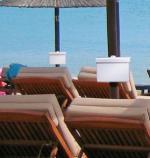 MOBILE SAFE mobilszéf napernyő-konzollal