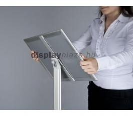INFO PRESENTER BASIC információs és menütartó tábla derékszögű sarokkal