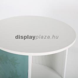 Kombinálható Kiállítási Körpult (standard)