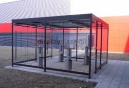 ECONOMY kültéri dohányzókabin, szállítási költség nélkül