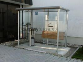PREMIUM kültéri dohányzókabin, szállítási költség nélkül