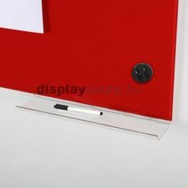 GLASS BOARD WHITE mágneses üvegtábla