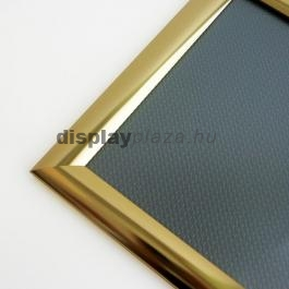 Streamline plakáttartó 25 mm derékszögű sarok arany