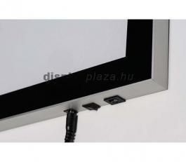 Prémium Mágneses LED Plakáttartó