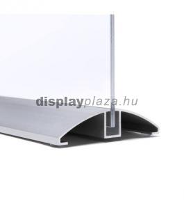 ALUBASE T alakú alumínium laptartó / menütartó (álló)