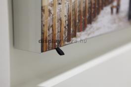 FF0108 akusztikai hangszigetelő és térelválasztó fali elem feszített textilkerettel