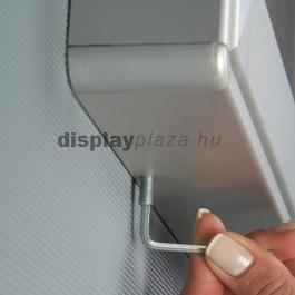 NOTICEBOARD CORK parafa vitrin 70 mm