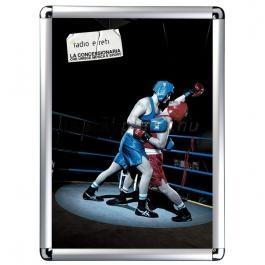 Streamline plakáttartó 25 mm lekerekített sarok A1