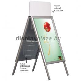 CLASSIC BASIC kültéri megállító tábla 32 mm derékszögű sarokkal