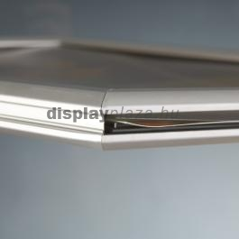 Slide-in Frame kétoldalas becsúsztatható plakátkeret 25mm derékszögű sarok - fekvő