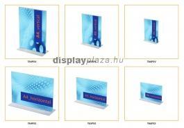CLASSIC T alakú laptartó / menütartó (fekvő)