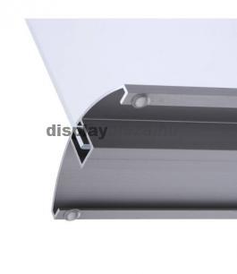 ALUBASE T alakú alumínium laptartó / menütartó (fekvő)