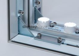 FF0104 világító fal feszített textilkerettel