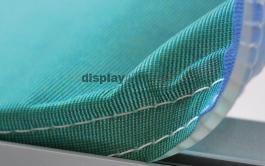 FF0109 befüggeszthető térelválasztó elem feszített textilkerettel