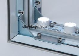 FF0112 egyedi mennyezeti design világítótest feszített textilkerettel