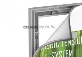 FF0103 kirakati háttérfal feszített textilkerettel