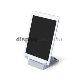 Universal zárható tablet tartó fehér színben