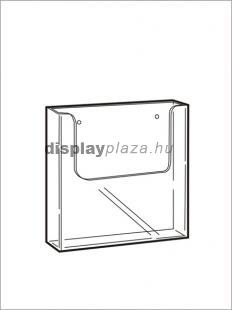 CLEARLINE 1XA5/F fali szórólaptartó, A5