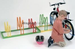 MULTI PARKER Harlekin biztonságos gyerek-kerékpártároló