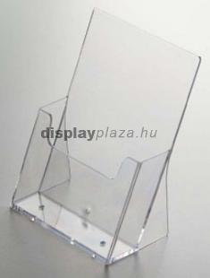ECOLINE 2XLA4/A asztali szórólaptartó, 2x1/3 A4 (felezett A4)