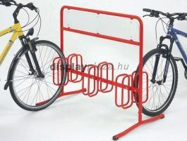 DW 3006 kétoldalas kerékpártároló reklámtáblával