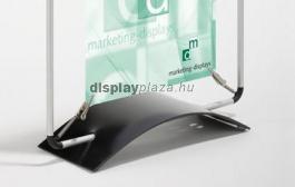 Asztali állvány rugós plakátkerethez