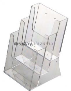 ECOLINE 3XA5/A asztali szórólaptartó, 3xA5