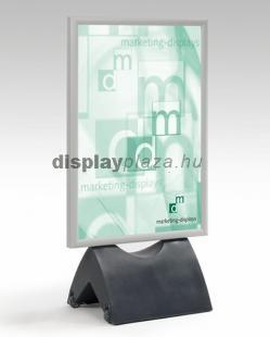 MOBIL megállító tábla derékszögű sarokkal