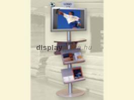 LCD Monitor Combo 3 Aláíró polc + Szórólap tartó + Válaszkártya
