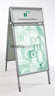 CLASSIC + LOGO megállító tábla logó kerettel lekerekített sarokkal