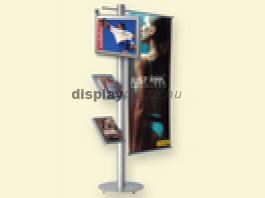 LCD Monitor Combo 4 Szórólaptartó + Banner tartó + Állvány