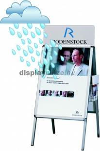 CLASSIC WEATHERPROOF vízbiztos megállító tábla lekerekített sarokkal