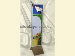 LCD Monitor Combo 5 Banner Plakáttartó + Állvány