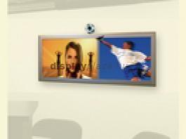 LCD Monitor Horizont + Plakáttartó