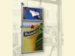 LCD Monitor Stereo Look + Világító plakáttartó