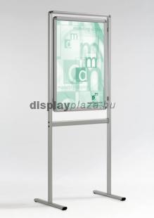 CLASSIC06 Plakáttartó állvány kétoldalas