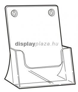 CLEARLINE 1XA4/AF/U asztali-fali univerzális szórólaptartó, A4