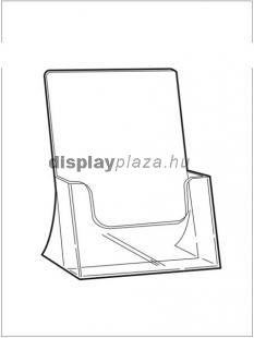 CLEARLINE 1XA5/A asztali szórólaptartó, A5
