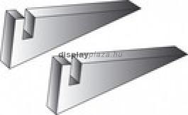 Plexi plakáttartóláb asztali - 25 mm-es