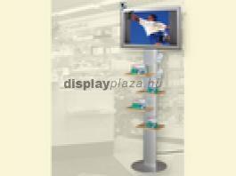 LCD Monitor Combo 2 + Merchendasier polc + Szórólap tartó + Állv