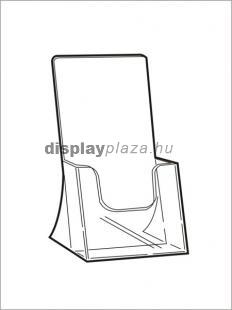 CLEARLINE 1XLA4/A asztali szórólaptartó, 1/3 A4 (LA4)