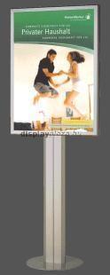 STANDBY EXTRASLIM világító plakáttartó állvány kétoldalas