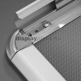 Softline plakáttartó 32 mm lekerekített sarok