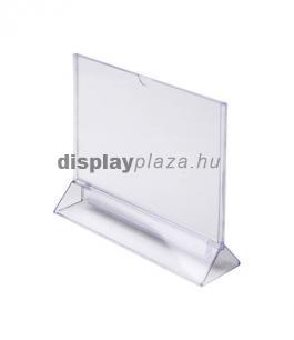 TRIANGLE T alakú laptartó (fekvő)