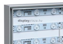 FF0101 világító oszlop feszített textilkerettel